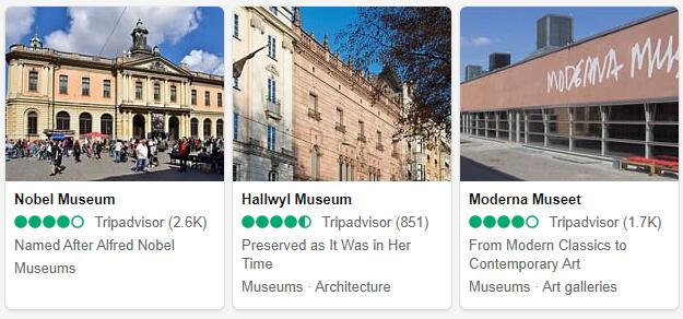 Stockholm Attractions 2