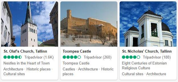 Tallinn Attractions