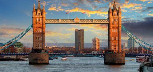 Tower Bridge og Tower of London