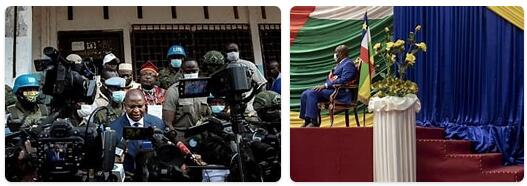 Central African Republic Head of Government