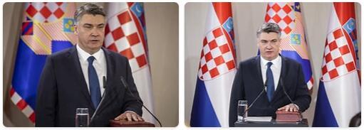 Croatia Head of Government
