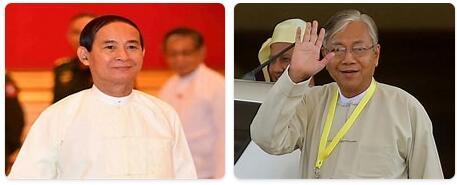 Myanmar Head of Government