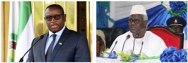 Sierra Leone Head of Government