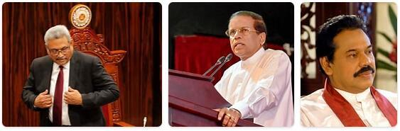 Sri Lanka Head of Government