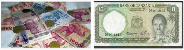 Currency in Tanzania
