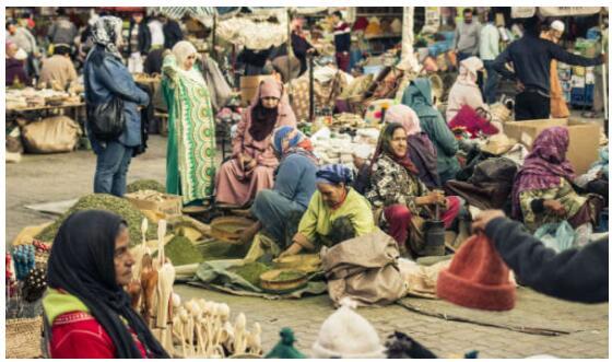 Souken in Marrakech