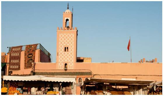 The Minarets of Marrakech